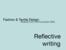 FTD Reflective Writing