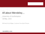 All about Mendeley