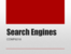 Search Engines Lecture Slides (2015)