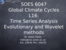 L16_Time series analysis, Evolutionary spectral methods & wavelets