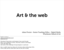 (OLD) Art & the Web